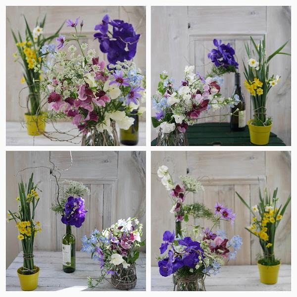 お家で花を楽しみましょう。